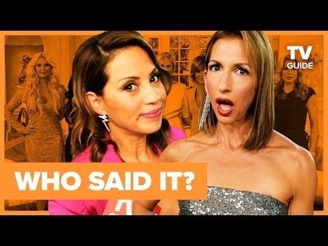 Orange Is the New Black or Real Housewives? | OITNB Cast Plays WHO SAID IT