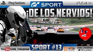 GT SPORT - COPA DE NACIONES FIA GT | ¡DE LOS NERVIOS! | GTro_stradivar Carrera Online