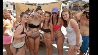 Matala Beach Festivals 2014  Body Painting Matala Beach Party the best  Music Selesction Babis jb