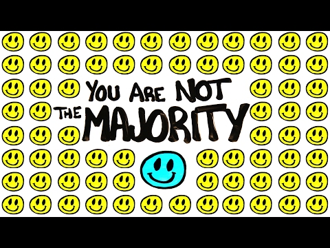 This Video Shows How You're Not Really In The Majority In The World