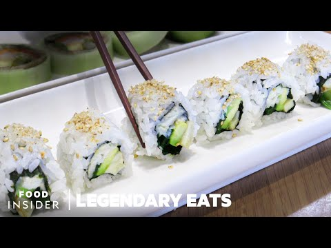 How the California Roll was Invented