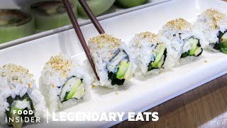 How The California Roll Was Invented | Legendary Eats