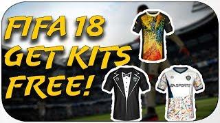 FIFA 18 FREE KITS RIGHT NOW!
