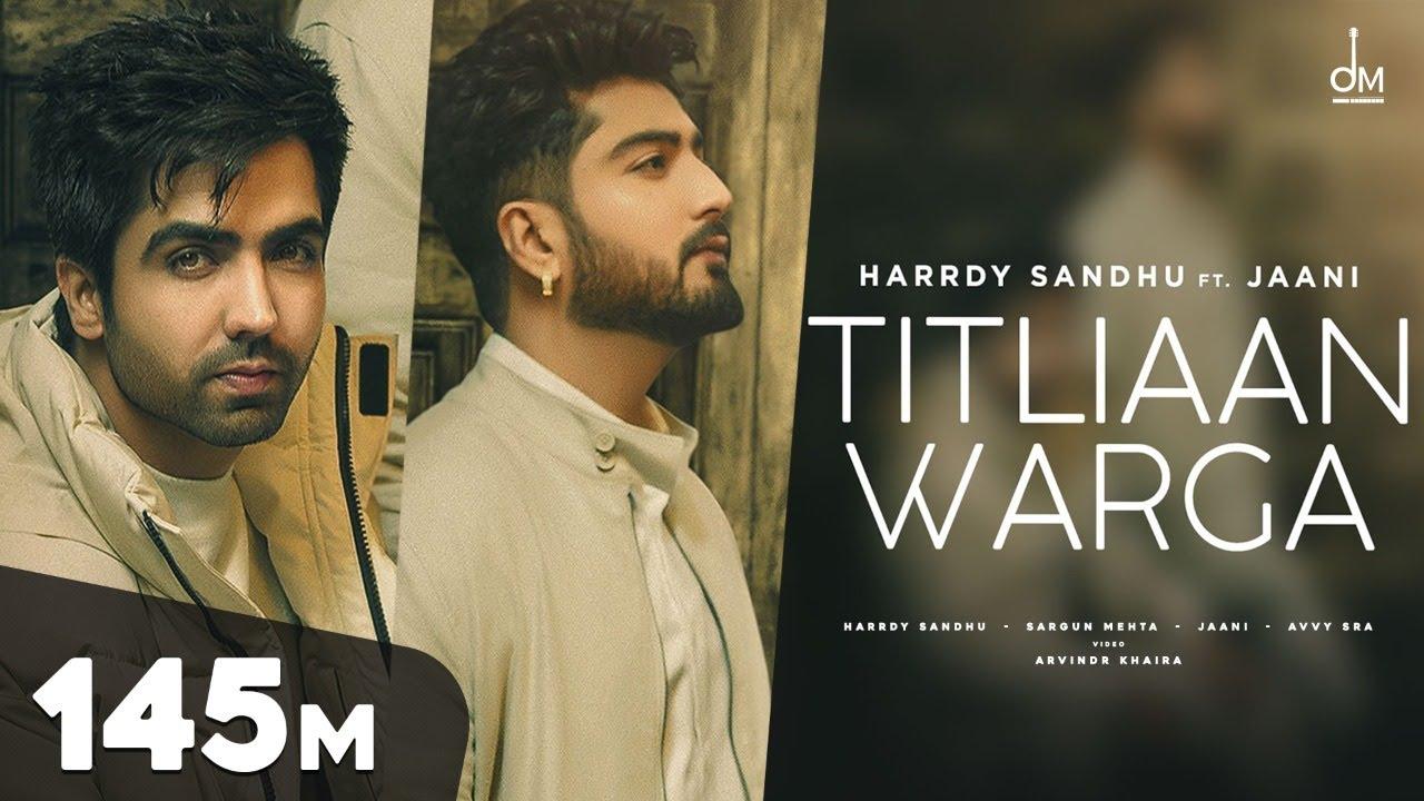 Titliaan Warga Hindi Lyrics – Harrdy Sandhu