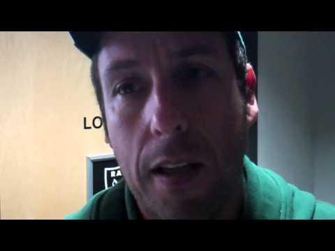 Adam Sandler Looking For Dan Patrick At Raiders - Jets Game