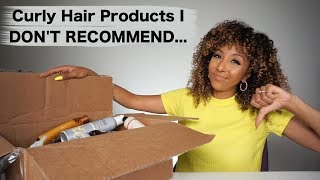 Curly Hair Products I DON'T RECOMMEND! | BiancaReneeToday