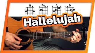 Hallelujah Guitar Tutorial (Jeff Buckley) Easy Chords Guitar Lesson