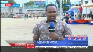 The president expected to be touring the Coast until Wednesday, Jubilee in Coast