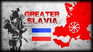 What if the Slavic World united as a Single Country? Greater Slavia Alternate History