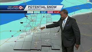 We could see more snow this week