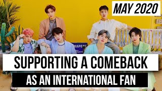 🐰✨How To Support A Kpop Comeback (As An International Fan)
