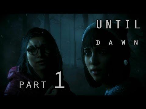 Until Dawn {part 1} - Роковая шутка