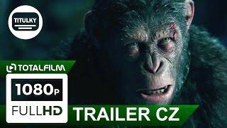Válka o planetu opic (2017) CZ HD Caesar trailer