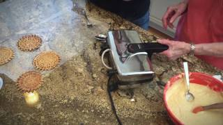 How to Make Pizzelles - With Mary Campisi and Verna (Mom)