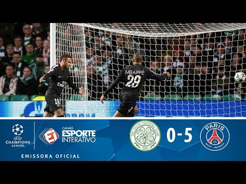 Celtic 0 x 5 PSG - Champions League (12/09/2017)