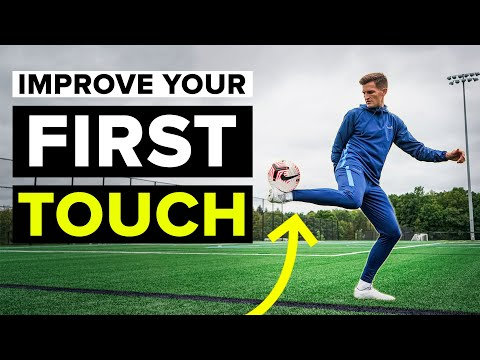 4 First Touch Drills | Improve your football skills