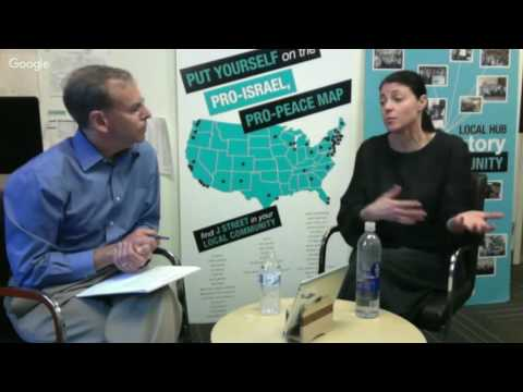 J Street's Google hangout with Mk Merav Michaeli and Jeremy Ben-Ami