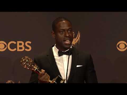 Sterling K Brown - 2017 Emmys - Full Backstage Speech