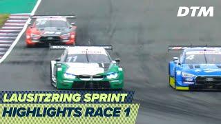 Nico Müller wins again | Highlights Race 1 | DTM Lausitzring Sprint 2020