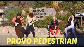Provo Pedestrian - BYU Divine Comedy