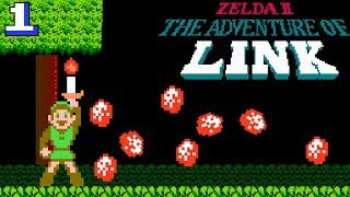 All I got was a candle... - Zelda II: The Adventure of Link pt 1