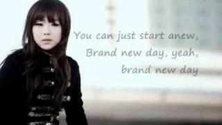 Kim Bo Kyung (김보경)-Brand New Day (w/ Eng. translation)