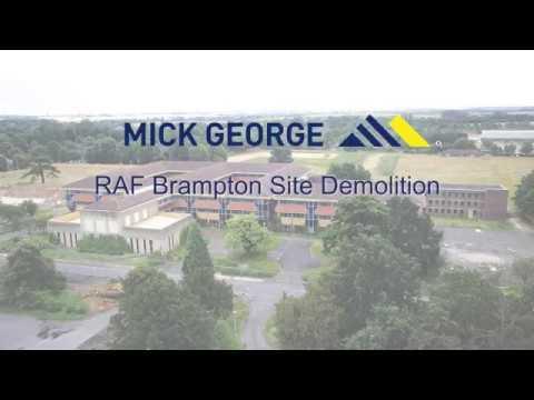 Pulling down RAF Brampton