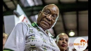 The Moment Zuma hears Ramaphosa is the new president of ANC