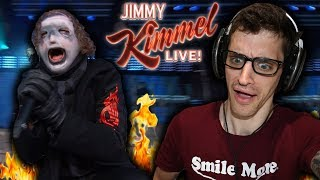 "Hip Hop Head REACTS To SLIPKNOT: ""Unsainted"" (JIMMY KIMMEL LIVE)"