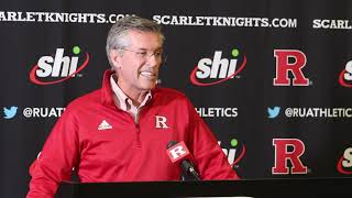 Pat Hobbs addresses Chris Ash firing, national search -- Rutgers Scarlet Knights Football