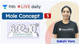 CBSE Class 11: Mole Concept L5 | Chemistry | Unacademy Class 11 & 12 | Sakshi - Download this Video in MP3, M4A, WEBM, MP4, 3GP