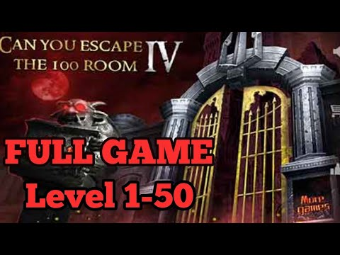 Can You Escape The 100 Room 4  FULL GAME Level 1 - 50 Walkthrough
