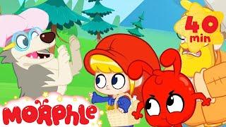 Little Red Riding Hood Mila - My Magic Pet Morphle   Cartoons For Kids   Morphle TV   Mila & Morphle