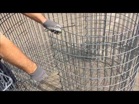 Aufbauanleitung Kräuterspirale der Firma Steinkauf 24