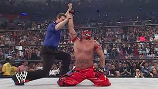Rey Mysterio wins the Royal Rumble Match: 2006 Royal Rumble