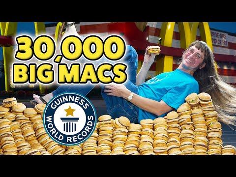 Could You Eat 30,000 McDonald's Big Macs?