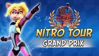 Crash Team Racing Nitro-Fueled - Nitro Tour Grand Prix Intro & Content Breakdown