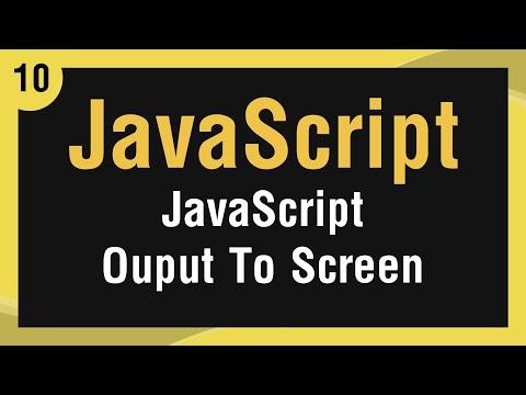 تعلم لغة JavaScript القائمة #1 الفديو #10