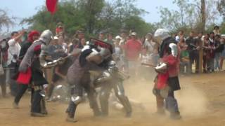 preview picture of video 'BOTN Fight #1 - Festival Medieval Guanajuato 2014'