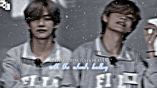 Playing 7 minutes in heaven with the school's badboy || taehyung ff || oneshot
