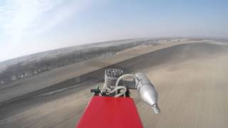 preview picture of video 'CALMATO 40 Trainer flight and crash gopro'
