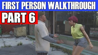 GTA 5 First Person Gameplay Walkthrough Part 6 - CIGARETTES AND FRUIT LOOPS!  |