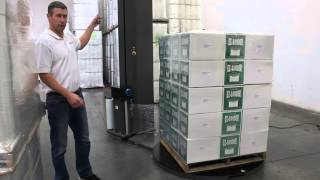 Evolution Pro Pallet Wrapper with 250% pre-stretching capability