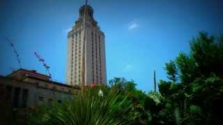 Austin playing CCR's Proud Mary on the UT bell tower