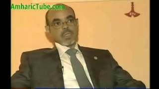 Meles Zenawi's last interview before he died