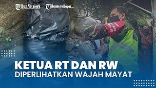 Mayat Dalam Plastik di Cilebut Masih Berpakaian Lengkap, Perwakilan RT dan RW Diperlihatkan Wajah