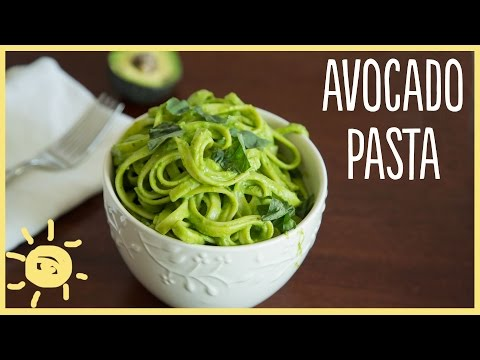 Video EAT | Avocado Pasta (easy, healthy, delicious dinner recipe)