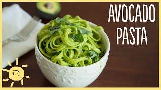 EAT | Avocado Pasta (easy, healthy, delicious dinner recipe)