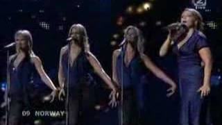 Norway in Eurovision 2008 Maria - Hold On Be Strong SF1
