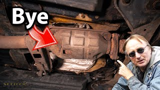 Here's Why Your Catalytic Converter is About to Be Stolen (Nationwide Theft Alert)